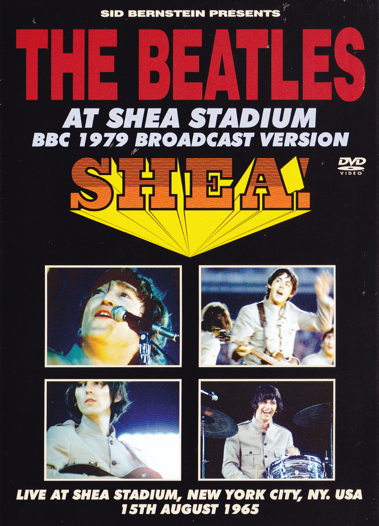 Beatles The At Shea Stadium 1979 Bbc Broadcast Version 1dvd Fab4 81565 Discjapan