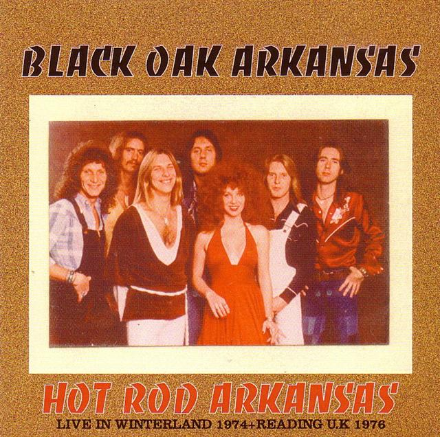 Black Oak Arkansas Hot Rod Arkansas 1pro Cdr Breakdown 256
