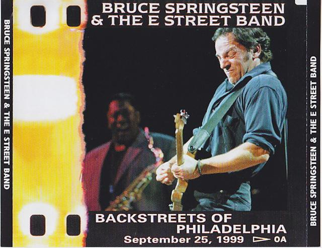 Bruce Springsteen And The E Street Band - Backstreets Of Philadelphia Sep  25 (3CD) The Polar Bear Records PB-035/036/037