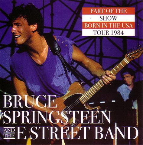 Bruce Springsteen & The E Street Band - Part Of The Show (2CD) Back  Streets BSCD-001/002