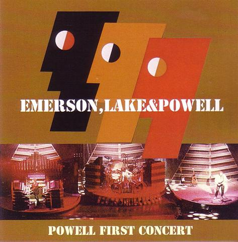 Emerson, Lake & Powell – Powell First Concert (2Pro-CDR) Blue Cafe ...