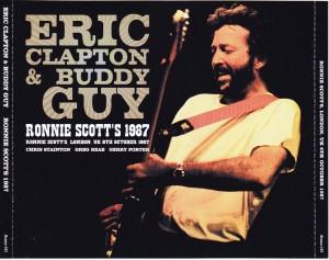 Eric Clapton Amp Buddy Guy Ronnie Scotts 1987 3cd Beano