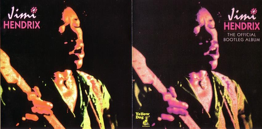 Jimi Hendrix - The Official Bootleg Album (1CD) Yellow Dog  YD-051