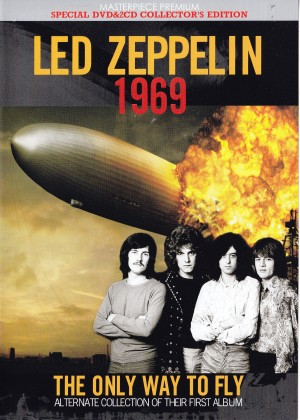 led zeppelin 1969 the only way to fly 1dvd 2cd masterpiece premium mpp 003 dvd1cd1 2. Black Bedroom Furniture Sets. Home Design Ideas