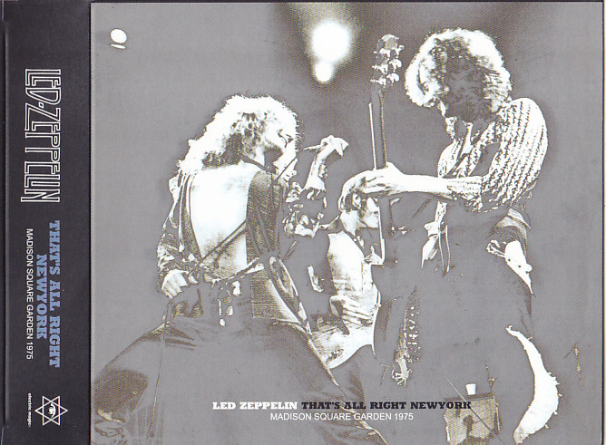 Led Zeppelin That S All Right New York 3cd With Slipcase Electric Magic Emc 011a B C Discjapan