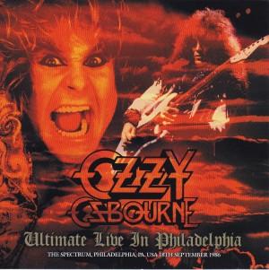 ozzy osbourne ultimate live in philadelphia 2cd zodiac 122 discjapan. Black Bedroom Furniture Sets. Home Design Ideas
