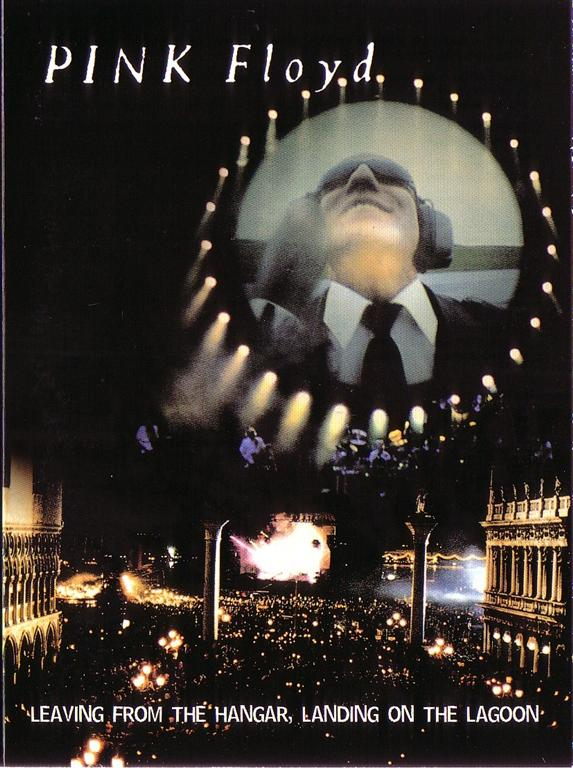 Pink Floyd - Leaving From The Hangar, Landing On The Lagoon (1 Dual Layer  DVD9 version, digipak) Apocalypse Sound  AS-111