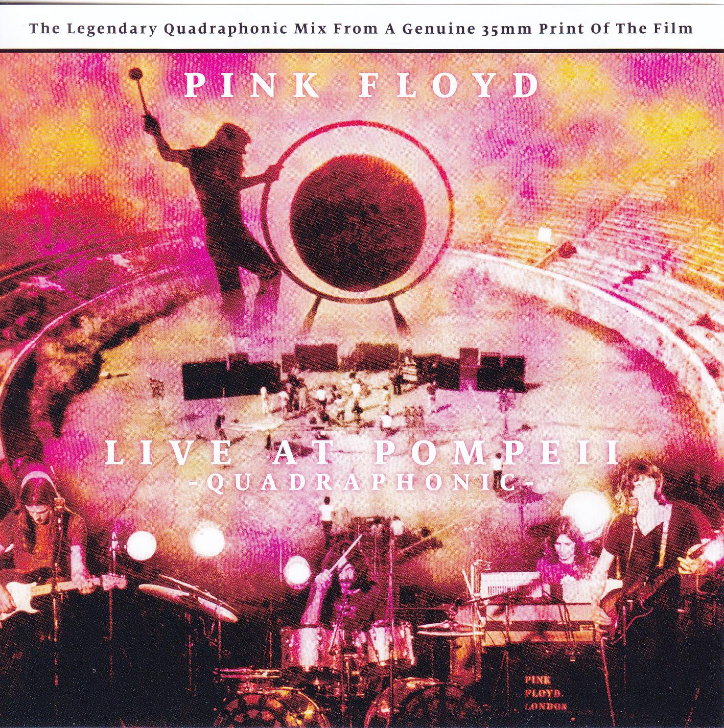 Pink Floyd - Live At Pompeii Quadraphonic (1CD) Sigma 118