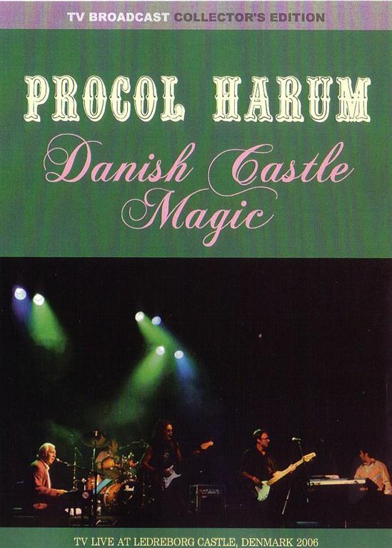 Procol Harum - Danish Castle Magic (1Pro-DVDR) Vjam  VJR157