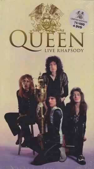 Queen Live Rhapsody 4dvd Long Box Wonderland Records