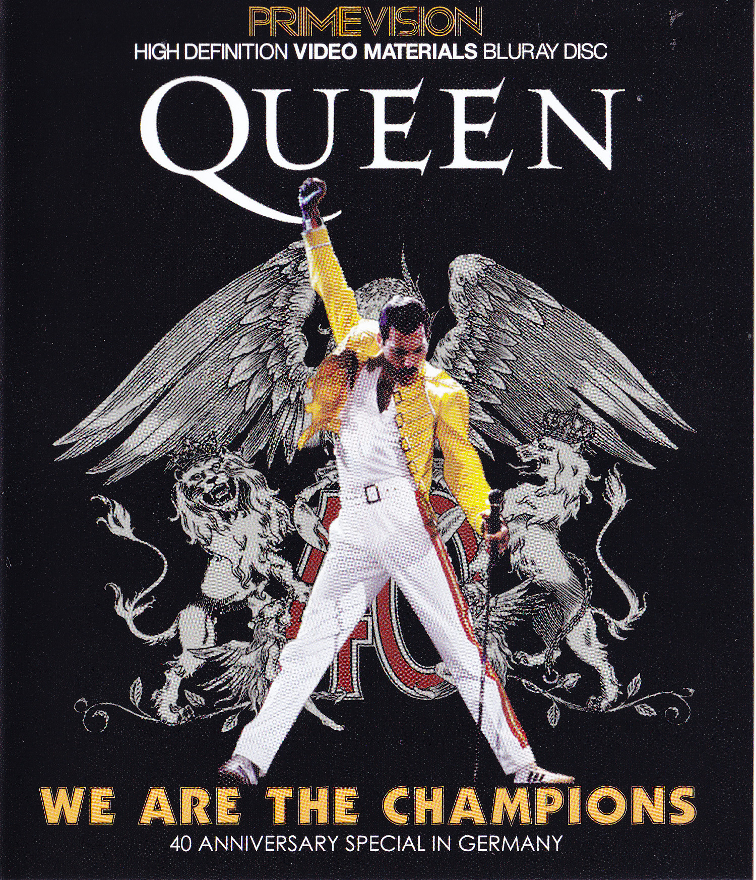 Queen We Are The Champions 2blu Ray R Prime Vision