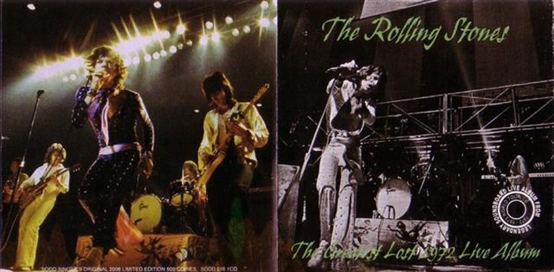 Rolling Stones, The - The Greatest Lost 1972 Live Album (1CD) Singer's  Original  SODD-016
