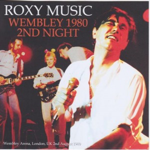Roxy Music Wembley 1980 2nd Night 2single Cdr Discjapan
