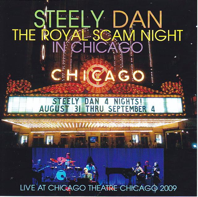 Steely Dan - The Royal Scam Night In Chicago (2Pro-CDR) Project Zip  PJZ-  385A/B