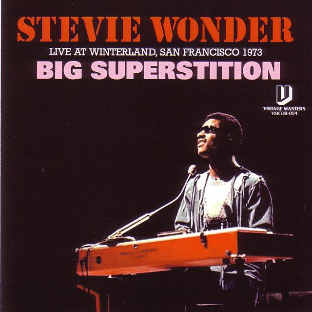 Stevie Wonder - Big Superstition (1Pro-CDR) Vintage Masters  VMCDR-004