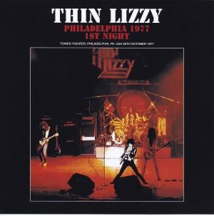 Thin Lizzy Philadelphia 1977 1st Night 2cd Zodiac 113 Discjapan