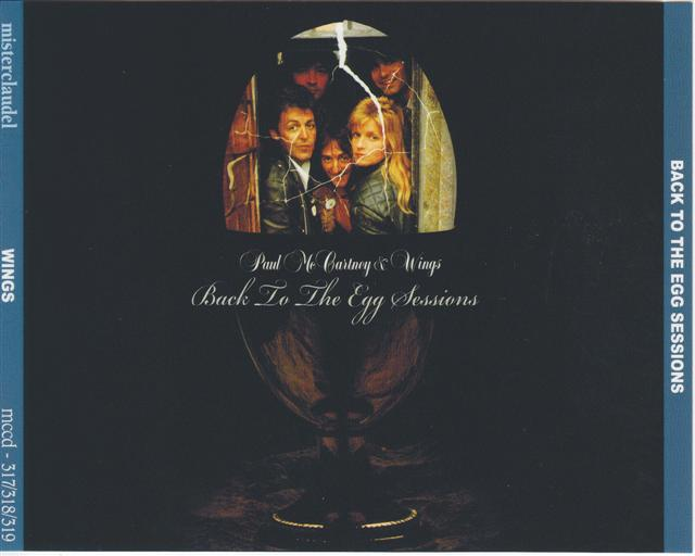 Paul McCartney And Wings - Back To The Egg Sessions (3CD) Misterclaudel   MCCD-317/318/319