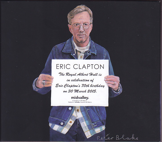 eric clapton royal albert hall 2015 no more 14cd box set mid valley mvr 791 804 discjapan. Black Bedroom Furniture Sets. Home Design Ideas