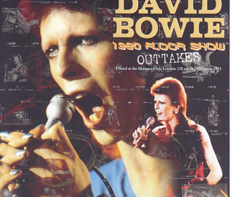 David bowie 1980 floor show outtakes 2single dvdr non for 1980 floor show david bowie
