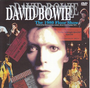 David bowie the 1980 floor show 1single dvdr non label for 1980 floor show david bowie
