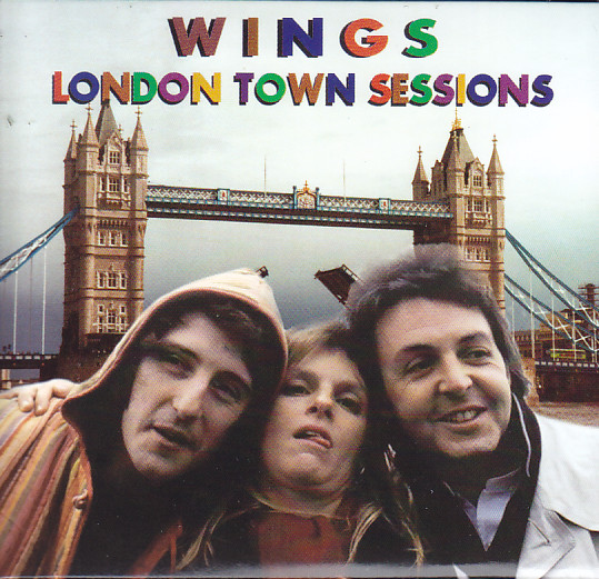 Paul McCartney & Wings - London Town Sessions ( 3CD Foldup Papercase )  Scorpio(Uk) -094