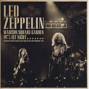Led Zeppelin Madison Square Garden 1975 1st Night 2cd Non Label Discjapan