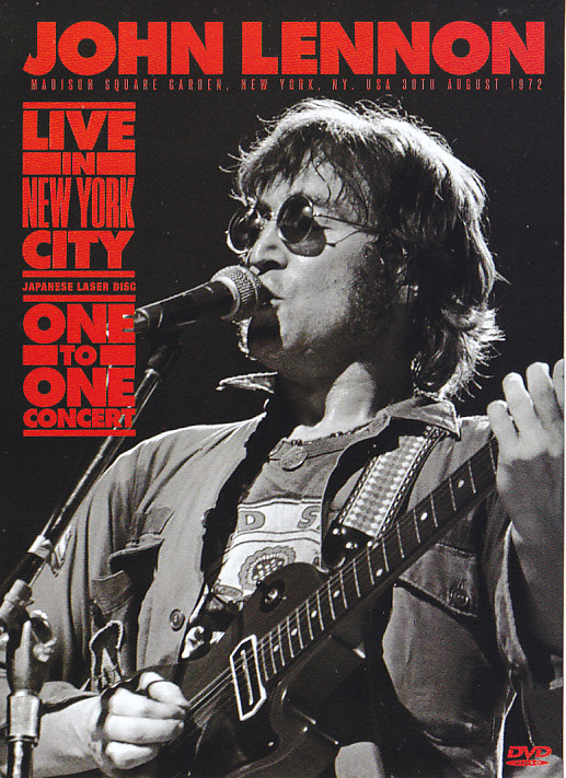 John Lennon Live In New York City One To One Concert Japanese Laser Disc Edition 2dvd Non Label Discjapan