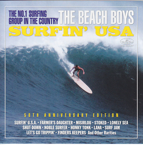 Beach Boys Surfin Usa 50th Anniversary Edition 2cd Big Beat Production Bbp 004 5