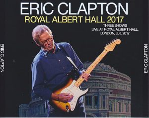 eric clapton royal albert hall 2017 4cdr goldfinger gfr 106abcd discjapan. Black Bedroom Furniture Sets. Home Design Ideas