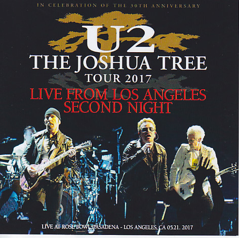 U2 - The Joshua Tree Tour 2017 Live From Los Angeles Second Night  (2Pro-CDR) Atomic  AT-1702A/B
