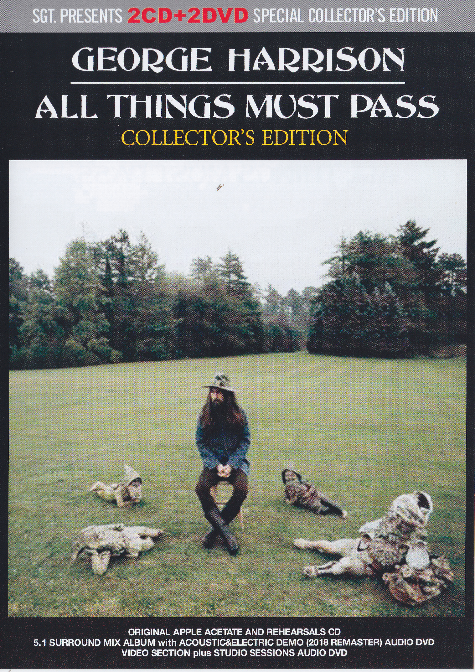 George Harrison – All Things Must Pass Collectors Edition ( 2CD+2DVD )  SGTGH001-CD1/2DVD1/2