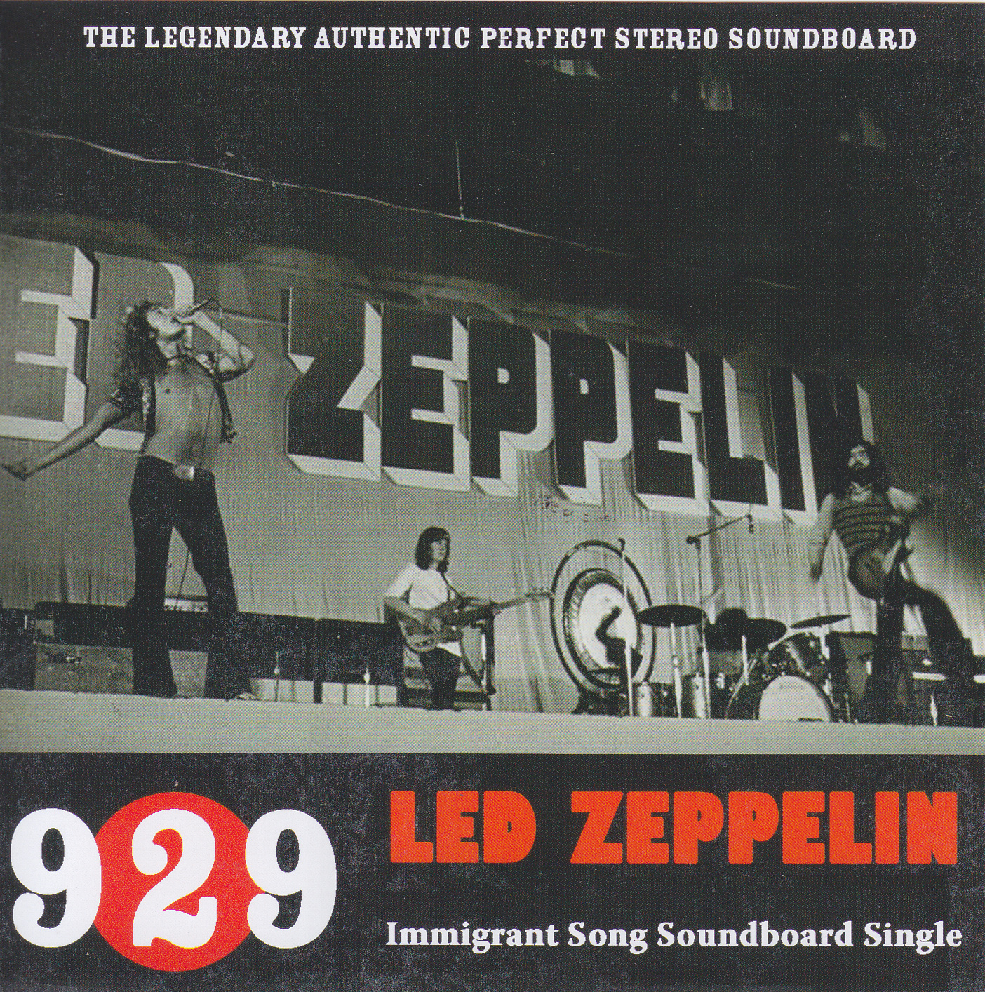 Led Zeppelin 929 Immigrant Song Soundboard Single 1Single CD Non Label