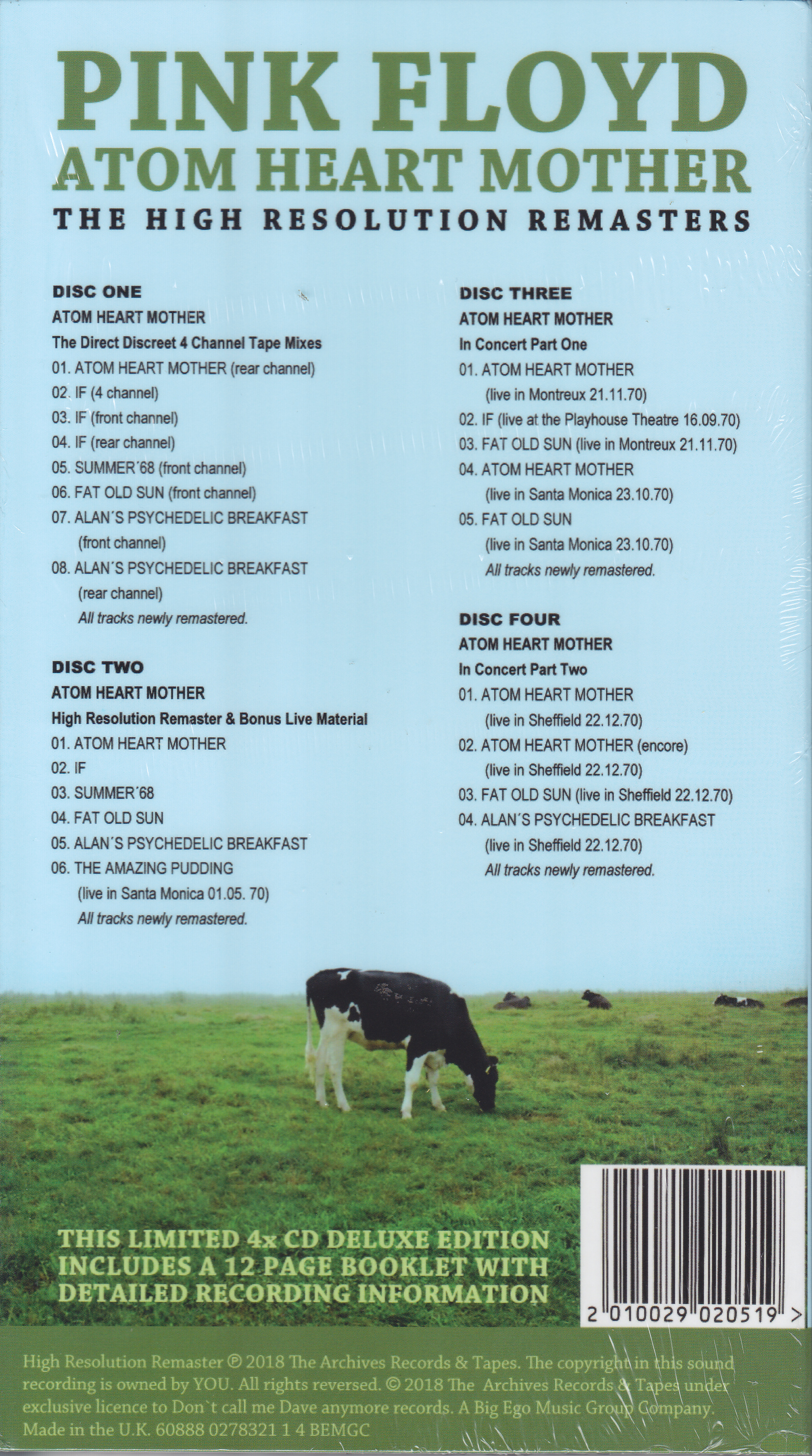 Pink floyd atom heart mother the high resolution - Pink floyd images high resolution ...
