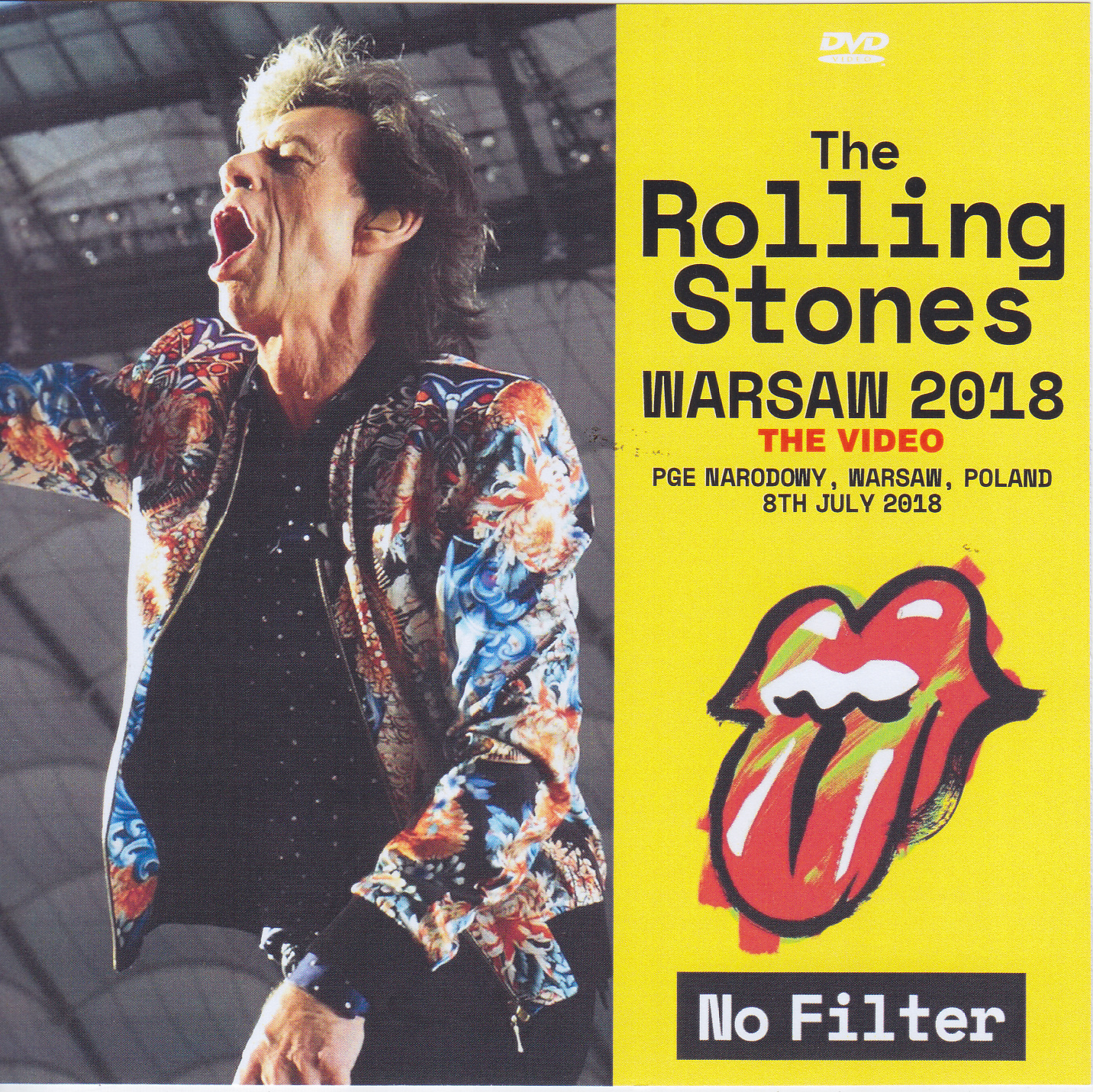 Rolling Stones, The - Warsaw 2018 The Video (1Single DVDR) Non Label