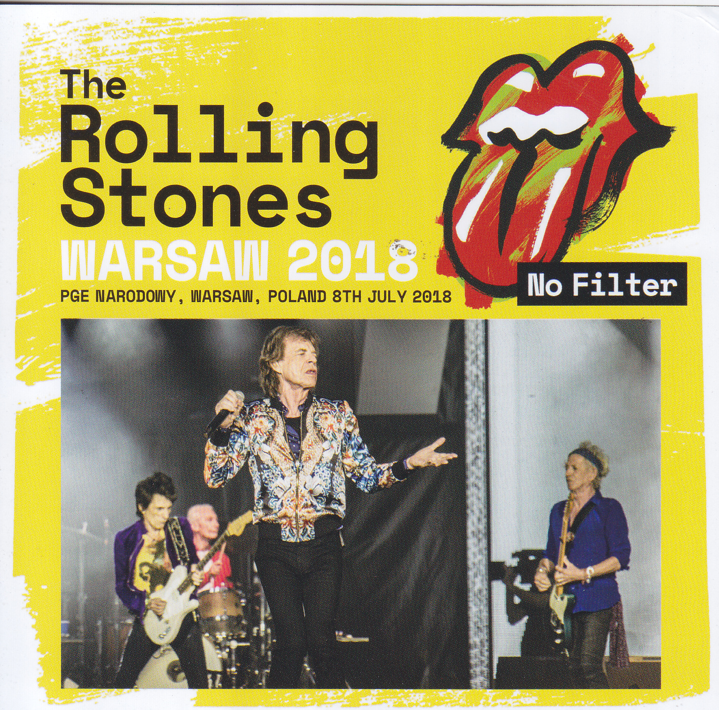 Rolling Stones, The - Warsaw 2018(2CD)Non Label