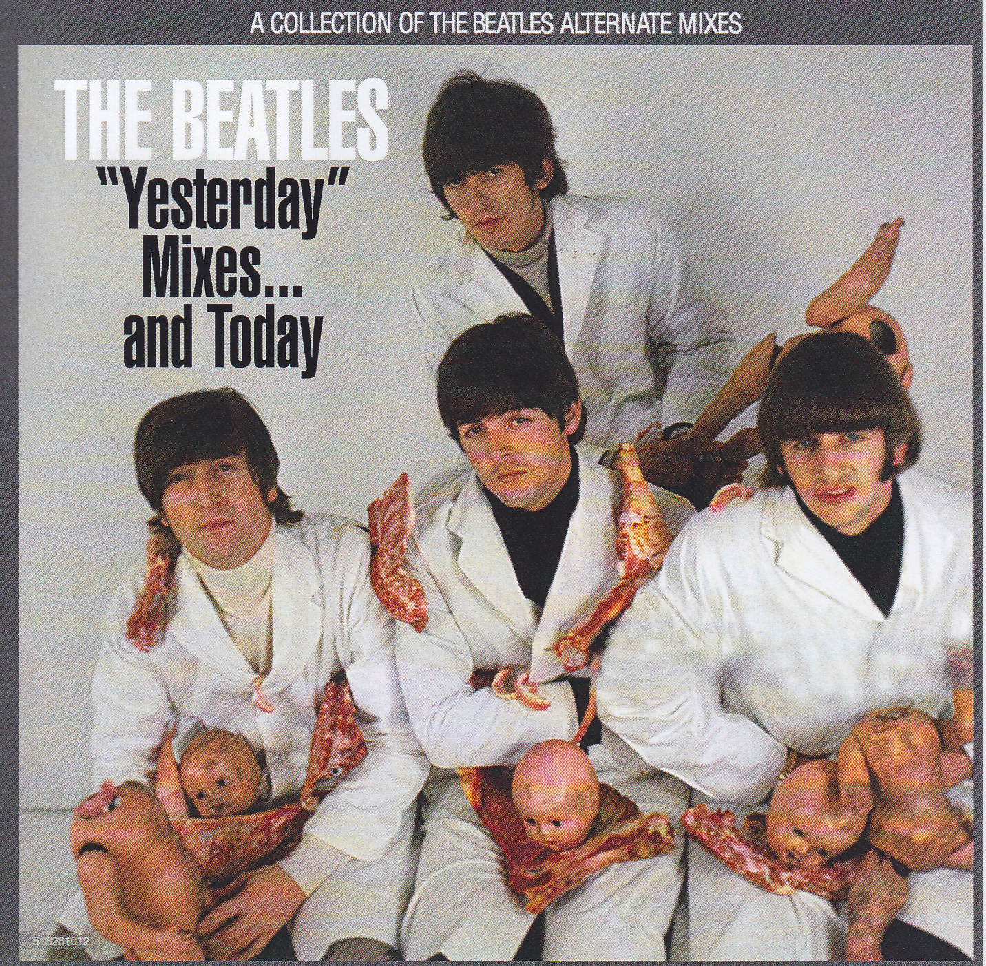 Beatles, The - Yesterday Mixes And Today (1Pro-CDR) Beatfile  BFP-127CDR