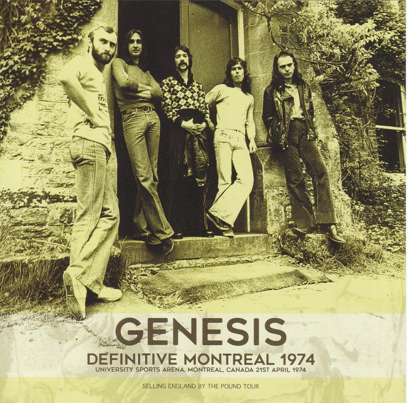 Genesis – Definitive Montreal 1974 – 2nd Press (2CD+1Bonus DVDR) Virtuoso 268/269 | DiscJapan