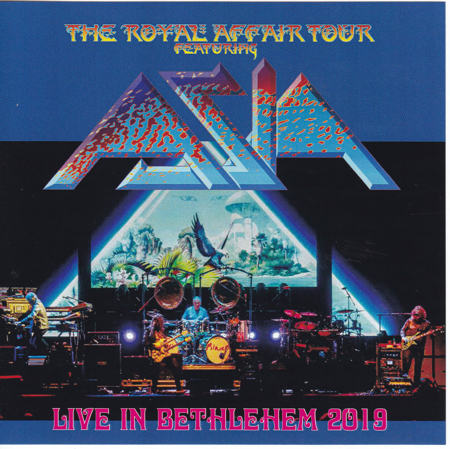 Asia - Live In Bethlehem The Royal Affair Tour 2019 ( 1Pro-CDR ) Galaxy   GX-111