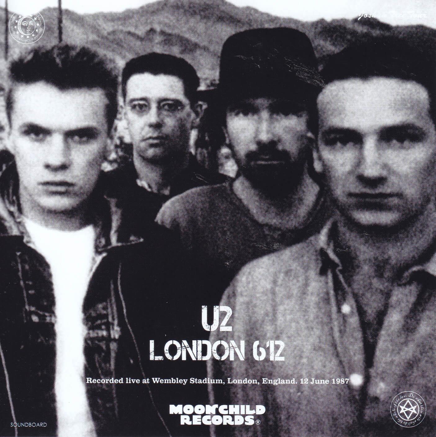 U2-London 612 Joshua Tree Tour( 2CD)Moonchild Records MC-165
