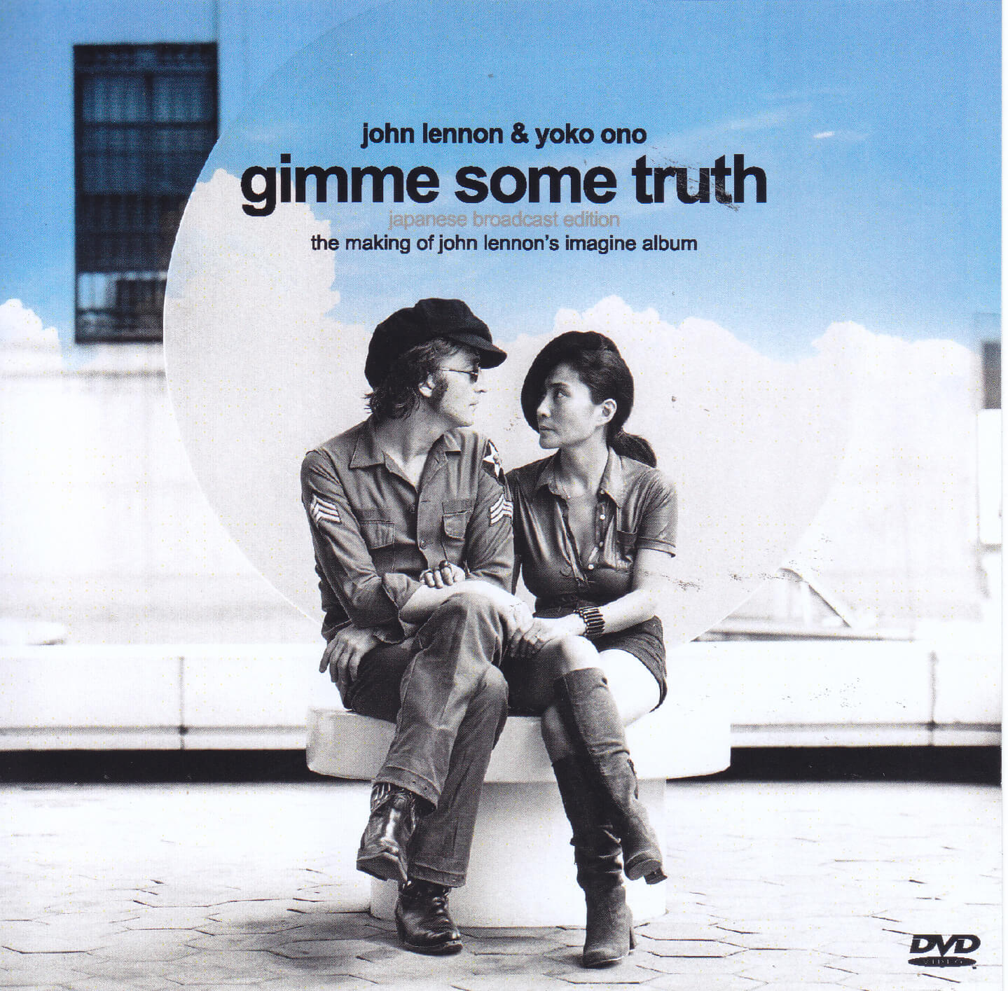 John Lennon Yoko Ono Gimme Some Truth Japanese Broascast Edition 1single Dvdr Non Label Discjapan